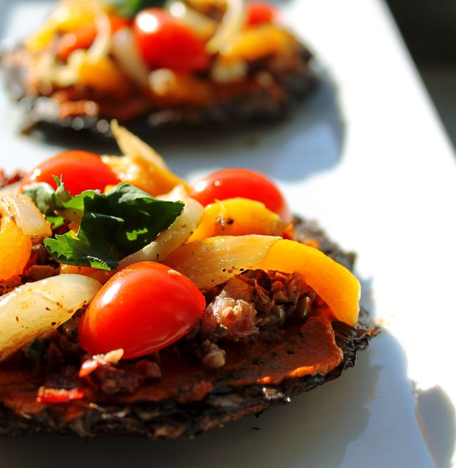 my favorite kind of double vision involves Mediterranean  Portobello Pizzas and poor decision making.Someone take away my oven keys. I can't drive this fucker.
