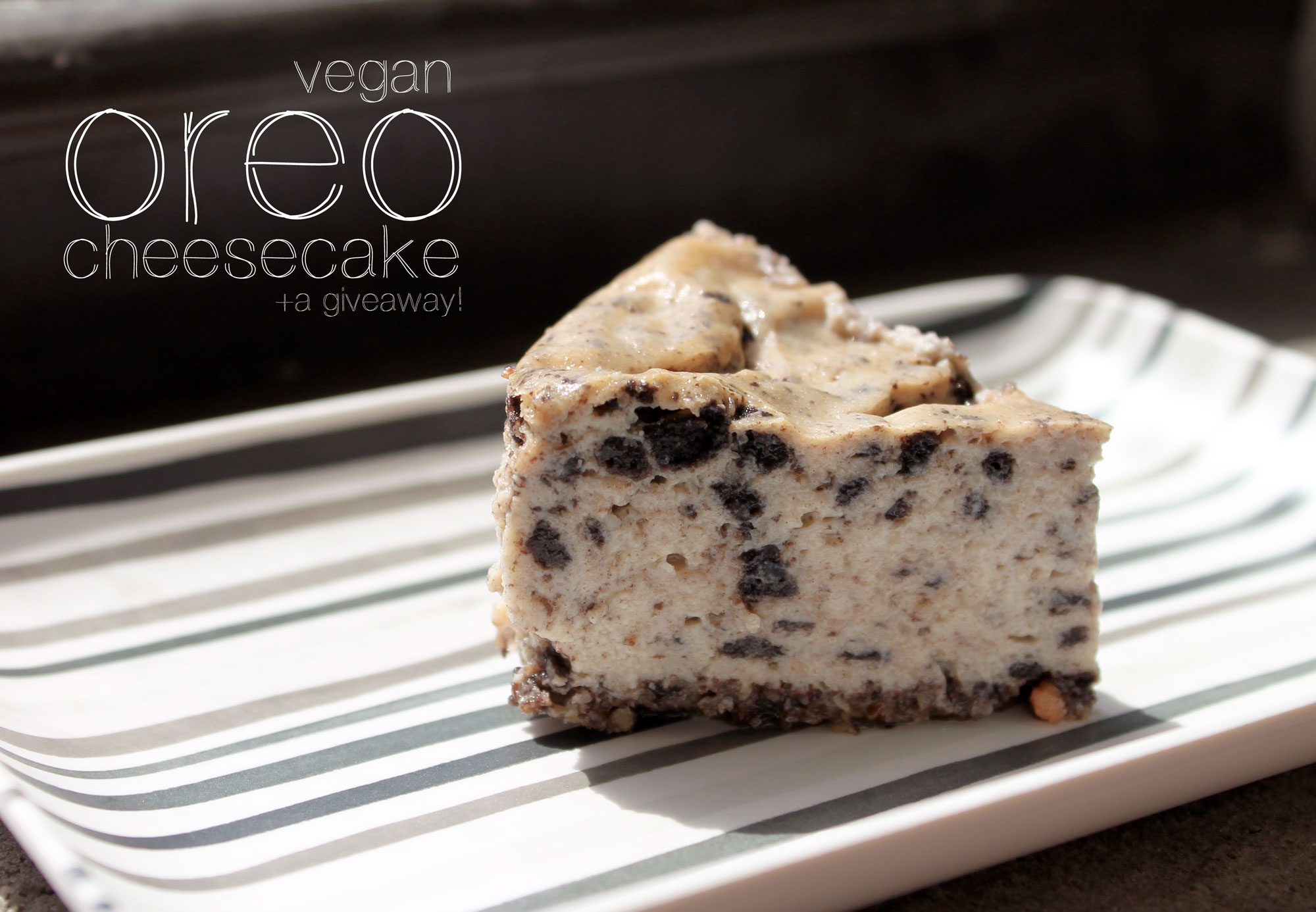 Vegan Oreo Cheesecake